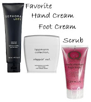 fanatic favorites my hand foot scrub Fanatic Favorites 2008   My Picks