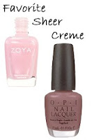 fanatic favorites my sheer creme Fanatic Favorites 2008   My Picks