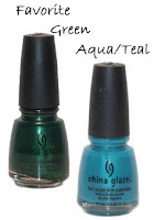 fanatic favorites my green aqua teal Fanatic Favorites 2008   My Picks