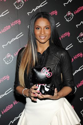 ciara mac hello kitty Celebrity Nail Watch 2 7 09