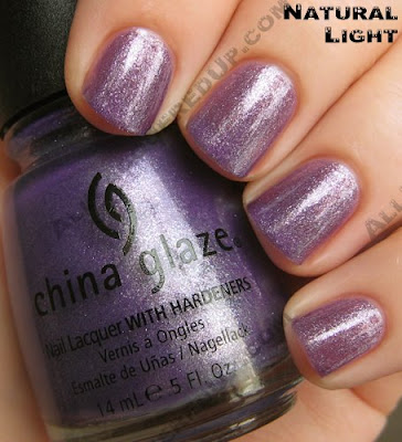 china glaze grape juice summer days 2009 nat China Glaze Summer Days