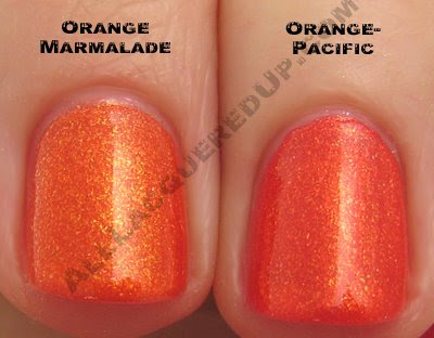 china glaze orange marmalade pacific comp China Glaze Summer Days