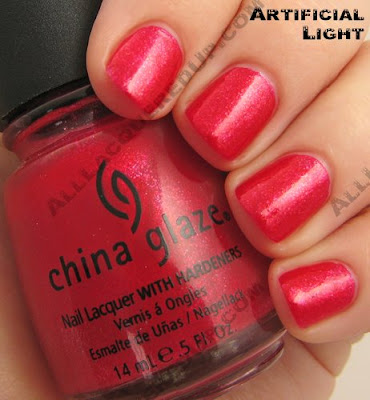 china glaze raspberry festival summer days 2009 China Glaze Summer Days