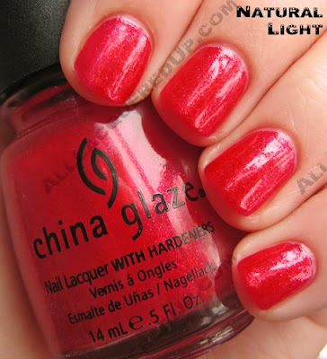 china glaze raspberry festival summer days 2009 nat China Glaze Summer Days