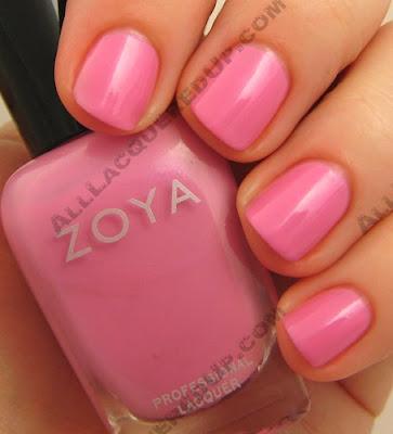 zoya barbie, zoya, twist, spring 2009, nail color, nail colour, nail polish, nail lacquer