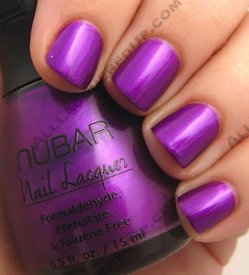 ginnifer goodwin, nail polish, he's just not that into you, purple nails, purple polish, nubar, nubar pasadena purple, pasadena purple, nail color, gigi, ginnifer goodwin nails