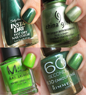 green nail polish st patricks pattys 2009 1 Get Your Green On for St. Paddys Day
