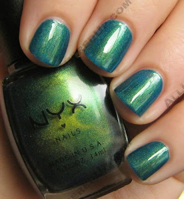 nyx jungle green nail polish The ALU Archives   NYX Jungle