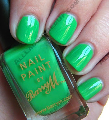 barry m nail paint spring green Barry M Nail Paints