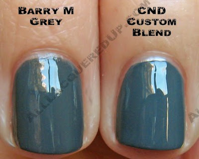 barry m grey cnd Swatch Request Saturday   Search for Chanel Dupes