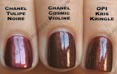 chanel cosmic violine tulipe noire opi Swatch Request Saturday   Search for Chanel Dupes