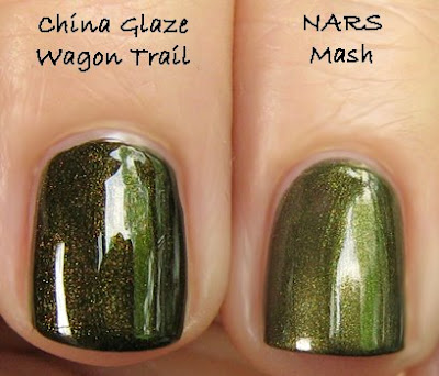 nars mash china glaze wagon trail The ALU Archives   NARS Mash &amp; Platoon