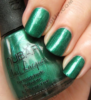 nubar conserve going green nail polish Nubar Going Green Collection Review & Swatches