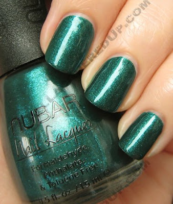 nubar earth going green nail polish Nubar Going Green Collection Review & Swatches