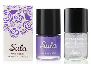 sula paint peel polish modern mauve metallic top coat Sula Paint and Peel Polish Swatches and Review