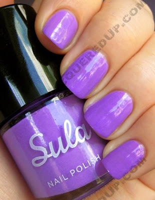 sula modern mauve paint peel polish Sula Paint and Peel Polish Swatches and Review