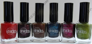 shades by barielle all lacquered up collection The All Lacquered Up Collection from Barielle   Part 2
