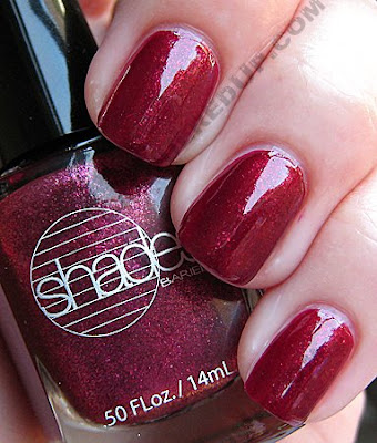 barielle glammed out garnet nail polish all lacquered up The All Lacquered Up Collection from Barielle   Part 2