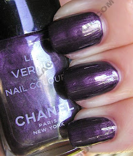 chanel metallic vamp le vernis nail polish The ALU Archives   Chanel Vamp and Metallic Vamp