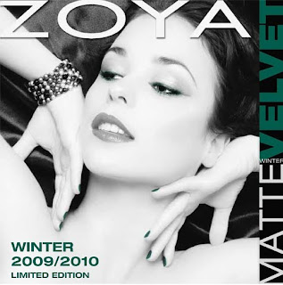 Zoya matte velvet winter trio Savita Harlow Veruschuka Coming Soon   Zoya MatteVelvet Winter