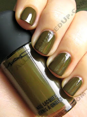mac dry martini jin soon choi nail trend fw09 Jin Soon for MAC Nail Trend FW09