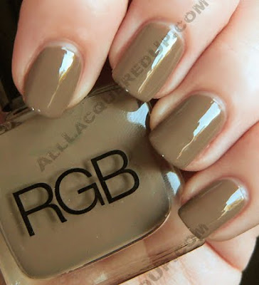rgb toast nail polish pre fall 09 RGB Cosmetics Pre Fall 09 Swatches and Review
