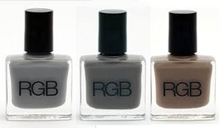 rgb pre fall 09 nail polish collection RGB Cosmetics Pre Fall 09 Swatches and Review