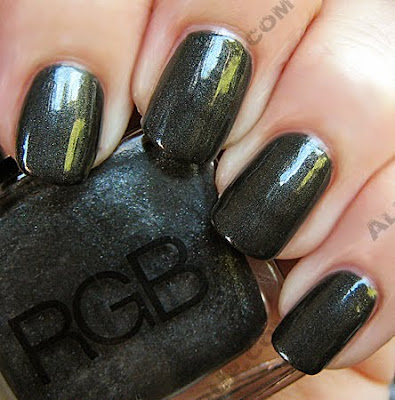 rgb slate nail polish pre fall 2009 wm RGB Cosmetics Pre Fall 09 Swatches and Review