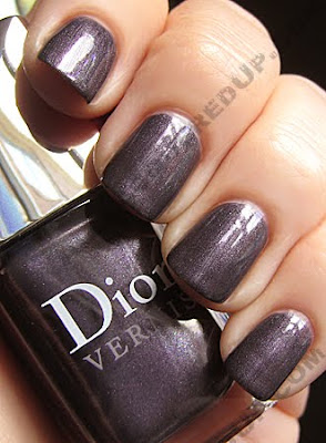 dior silver purple le vernis cristal boreale holiday 2009 Dior Silver Purple Le Vernis for Holiday 2009 Swatches &amp; Review
