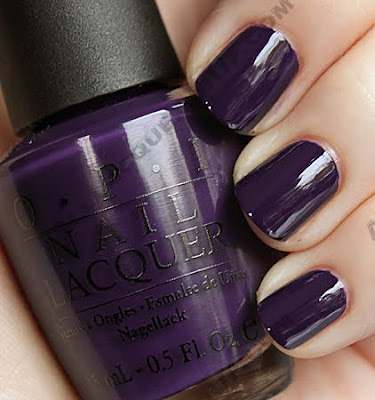 opi sapphire in the snow holiday wishes nail polish OPI Holiday Wishes Collection Swatches & Review