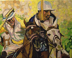 Polo in torn paper