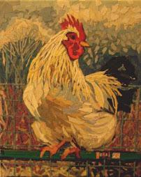 Roosting Rooster
