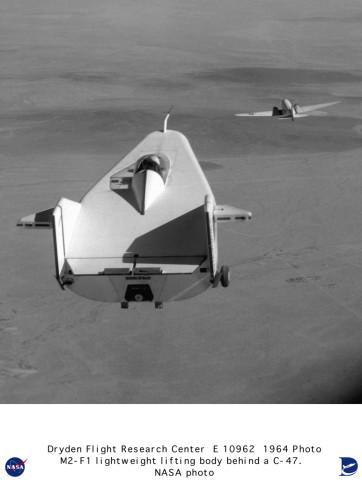 M2F1 Flight Operations  Lifting Body Technology