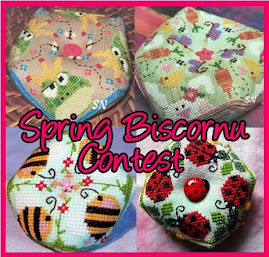 Spring Biscornu