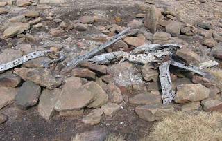 Avro Lancaster KB993:Wreckage