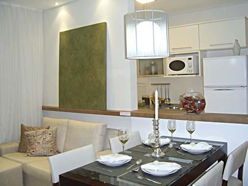 decoracao cozinha flat:CONDOMÍNIO RESIDENCIAL PARQUE DAS ÁRVORES – RIO CLARO: Decoração