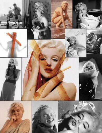 Vernissage Marilyn Monroe @ Galerie de L'instant, rue de poitou Paris 3