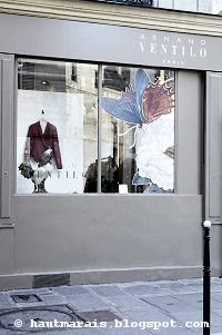 Ventilo Homme devient Ventilo Femme dans le Marais, rue de Poitou