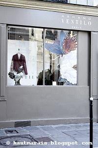 Ventilo Homme devient Ventilo Femme dans le Marais, rue de Poitou