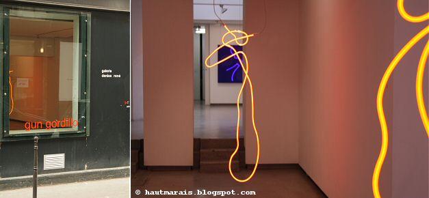 Gun Gordillo @ Galerie Denise Rene, rue charlot / Haut Marais