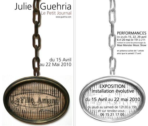 julie-GUERHIA @ Galerie Noelle Aleyne