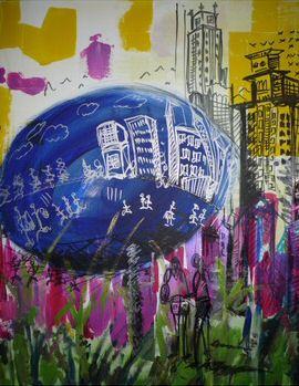 new heart city gallery - vernissage aurelie billat