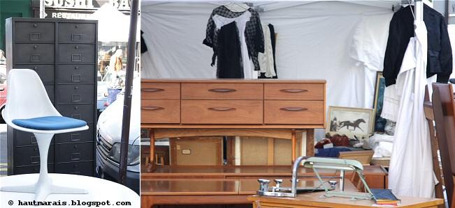 mobilier vintage brocante rue de bretagne