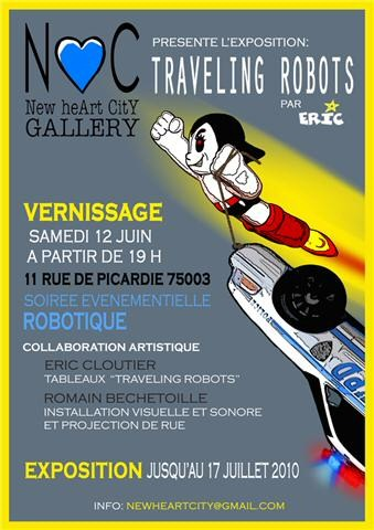 Vernissage street art rue de Picardie