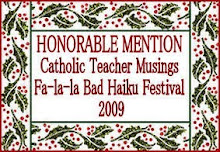 Fa-la-la Bad Haiku Festival