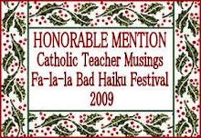 Fa-la-la Bad Haiku Festival