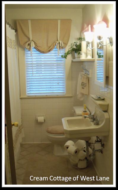 Bathroom redo on a budget