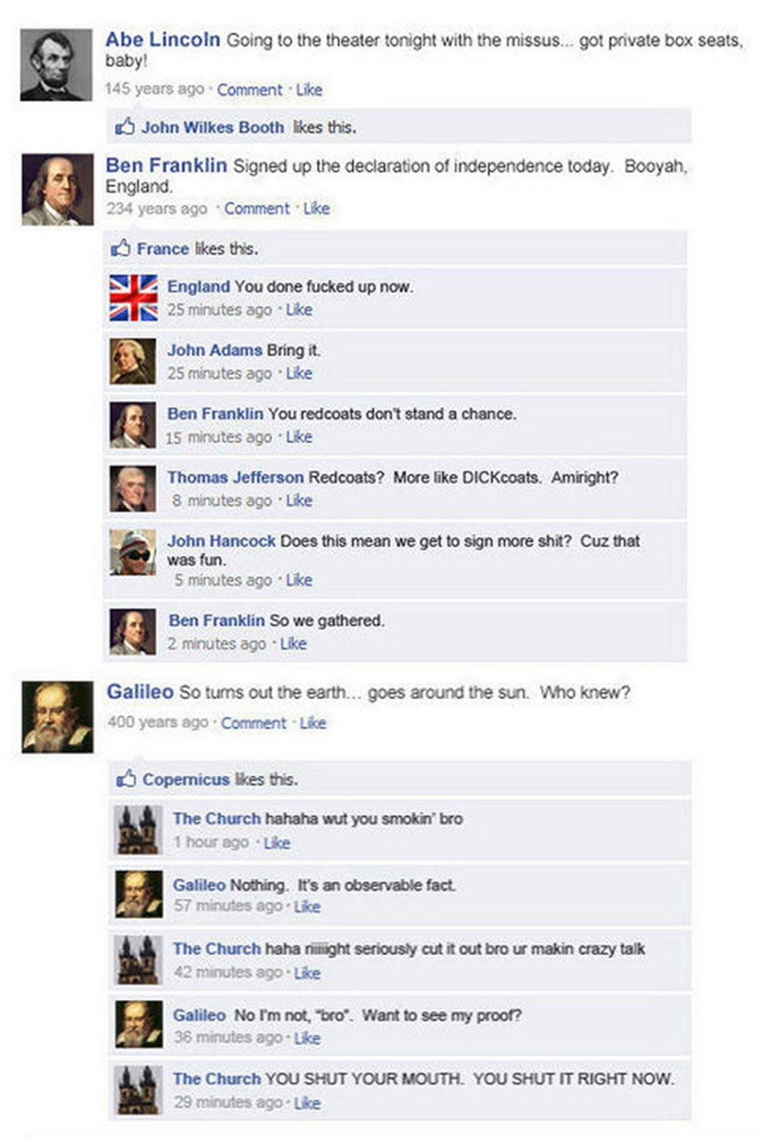 cute facebook statuses.
