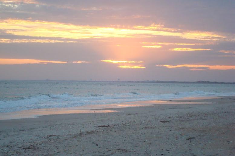 Sunset on Shackleford Island