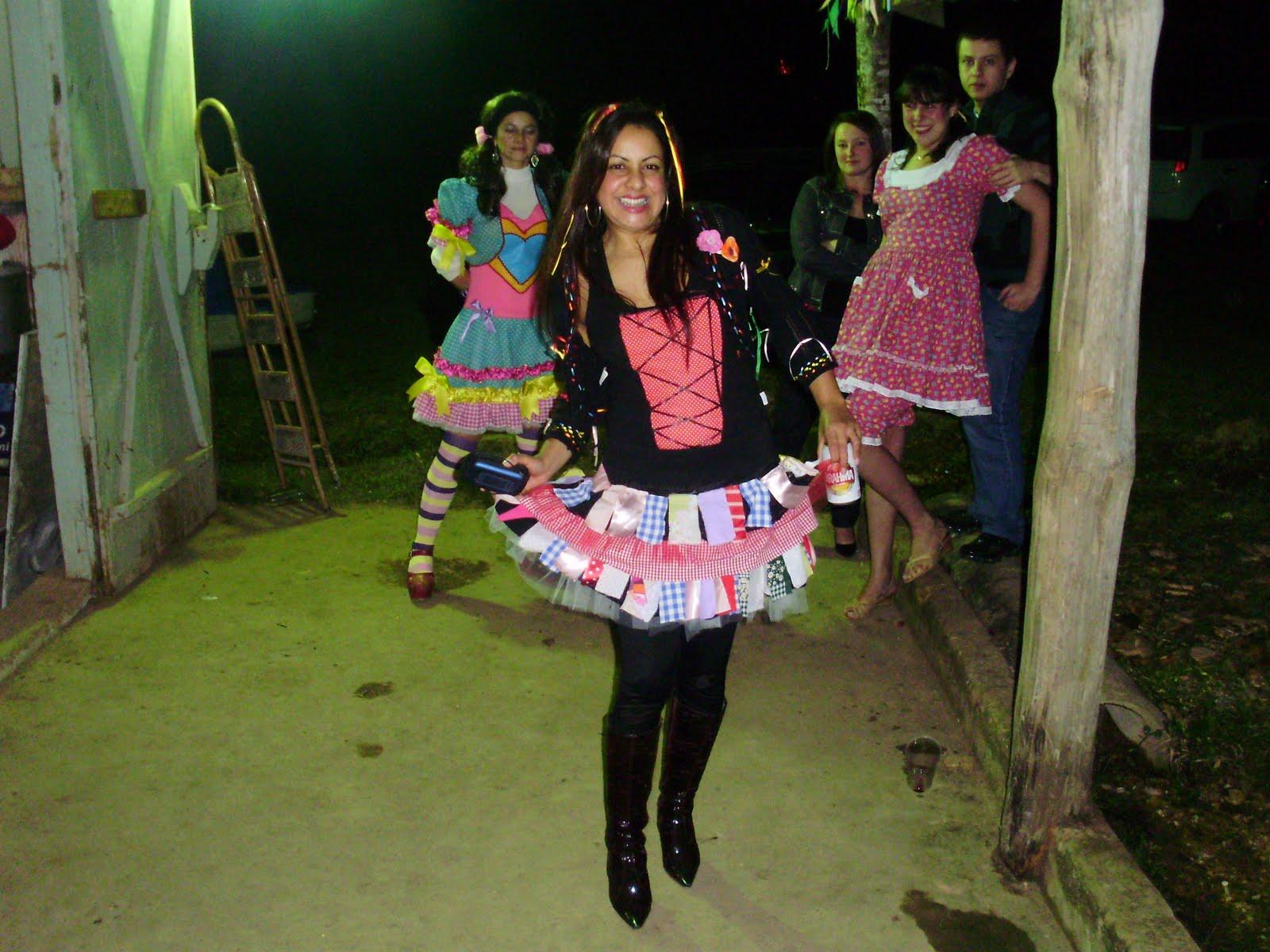 Fazer um vestido de festa junina
